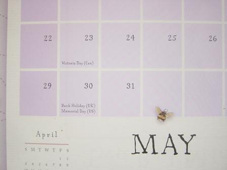 子供英語カレンダー2011年